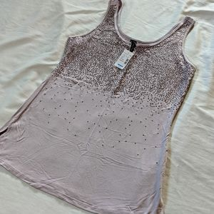 Maurices Purple Sequin Tank